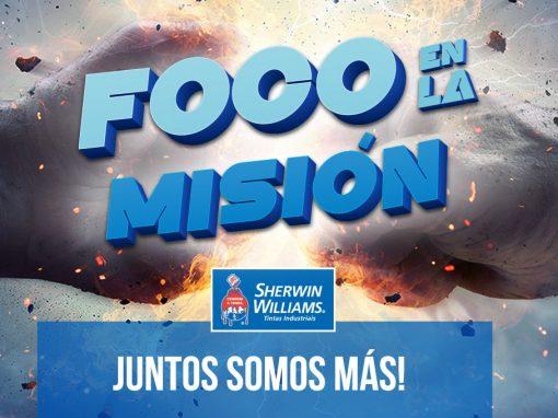 Sherwin-Williams Foco en la Misión