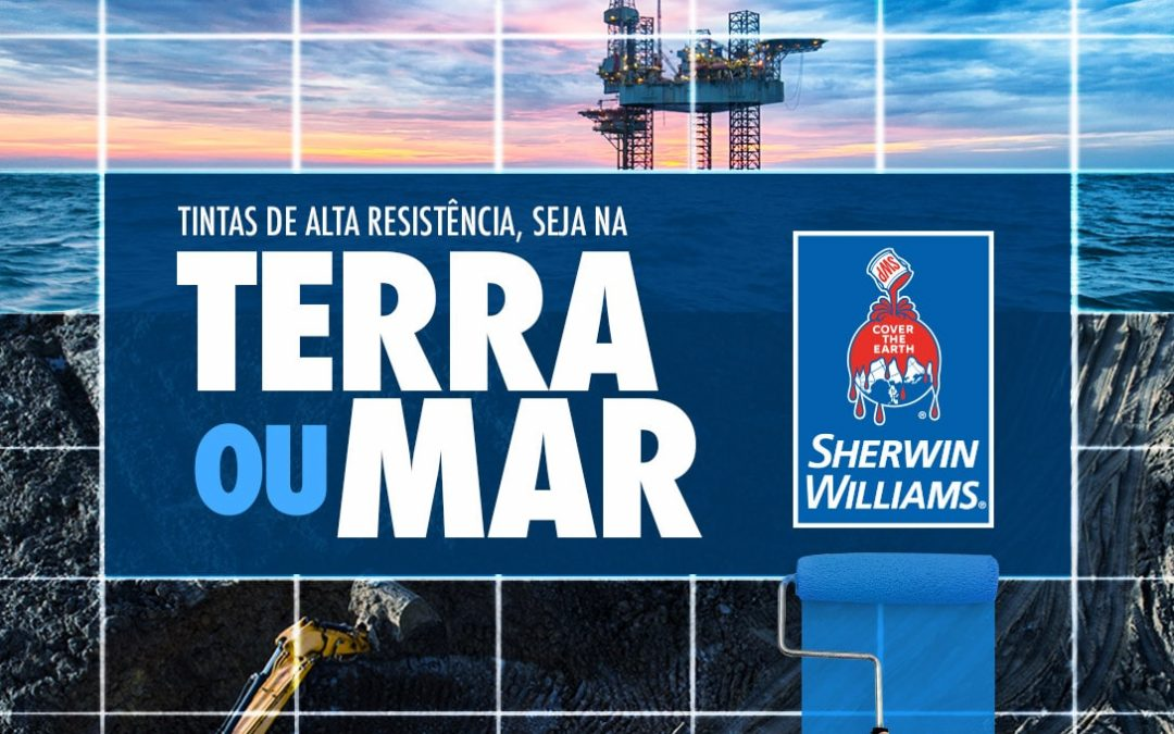 Sherwin-Willians Terra ou Mar