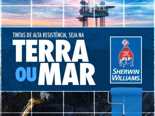 Sherwin-Willians Terra ou Mar